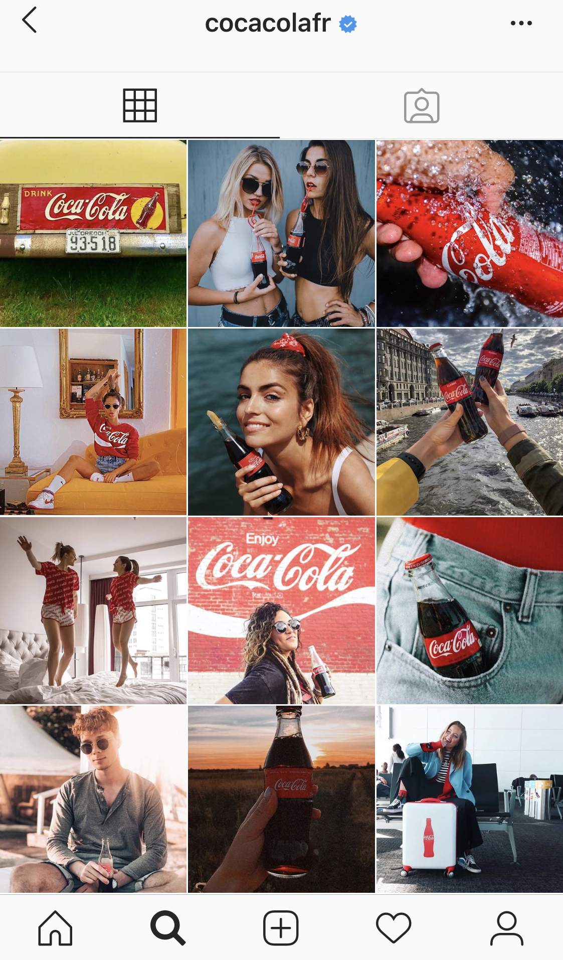 marketing des medias sociaux exemple instagram coca cola